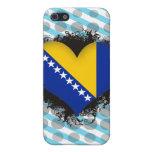 Amor Bosnia y Herzegovina del vintage I iPhone 5 Funda