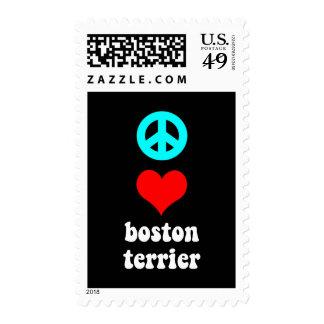 Amor Boston Terrier de la paz Envio