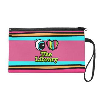 Amor brillante del corazón I del ojo la biblioteca