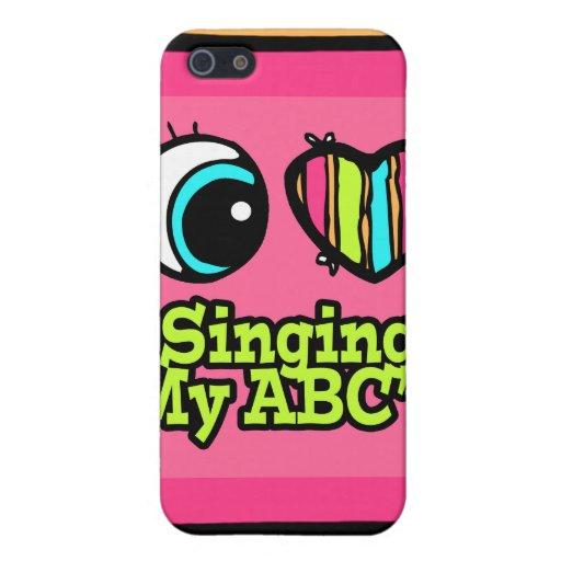 Amor brillante del corazón I del ojo que canta mi  iPhone 5 Cobertura