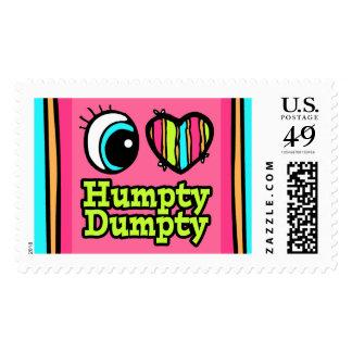 Amor brillante Humpty Dumpty del corazón I del ojo Envio