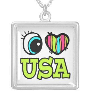 Amor brillante los E.E.U.U. del corazón I del ojo Grimpola