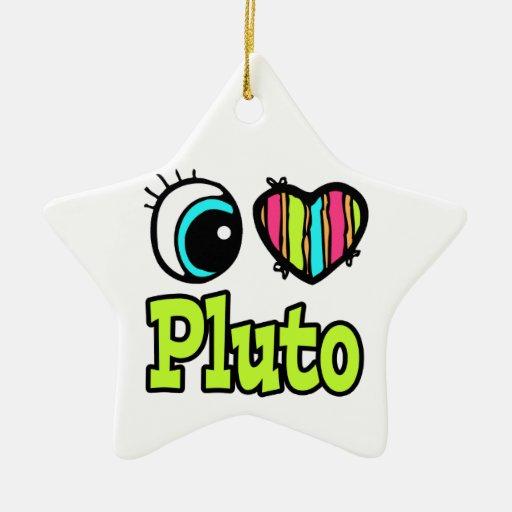 Amor brillante Plutón del corazón I del ojo Ornamentos Para Reyes Magos
