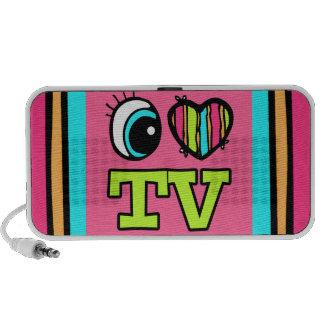 Amor brillante TV del corazón I del ojo Altavoz