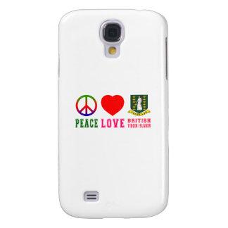 Amor British Virgin Islands de la paz