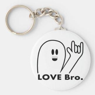 Amor Bro. del fantasma Llaveros Personalizados