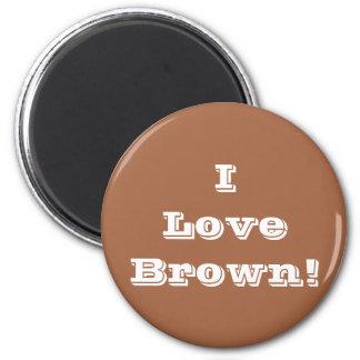 Amor Brown del imán I