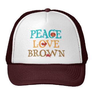 Amor BROWN - senador Scott BROWN NH de la paz Gorra