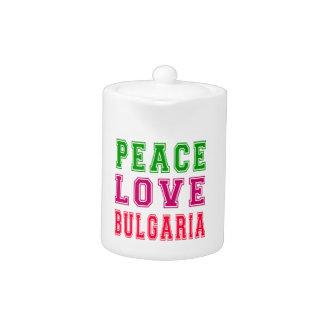Amor Bulgaria de la paz