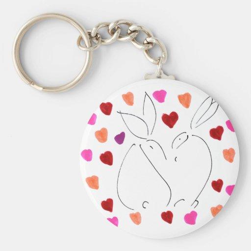 amor bunny02 llaveros