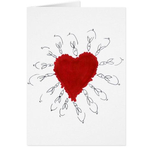 amor bunnys004 tarjeta de felicitación