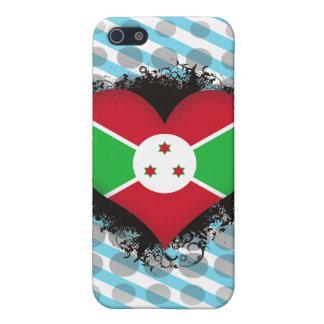 Amor Burundi del vintage I iPhone 5 Carcasa