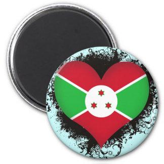 Amor Burundi del vintage I Iman De Nevera