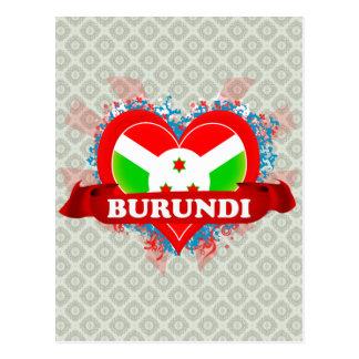 Amor Burundi del vintage I Postal
