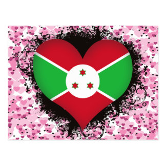 Amor Burundi del vintage I Tarjeta Postal