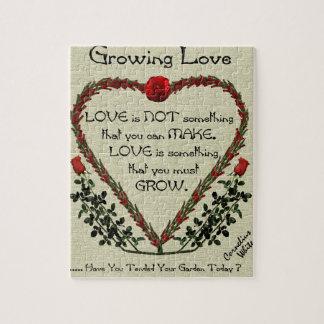 Amor cada vez mayor puzzles