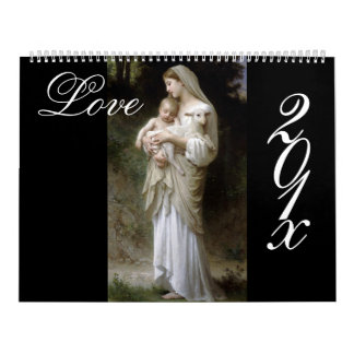 Amor, calendario de Bouguereau DIY