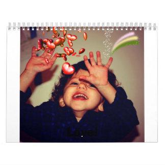¡Amor! Calendario De Pared