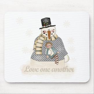 Amor camisetas y regalos de un otras muñeco de nie tapetes de ratones