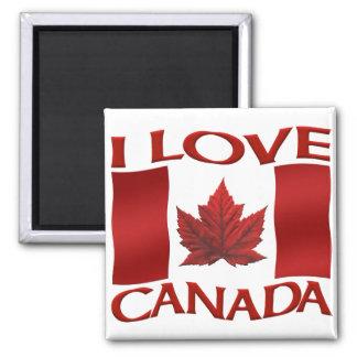 Amor Canadá del imán I del refrigerador del recuer