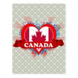 Amor Canadá del vintage I Postales