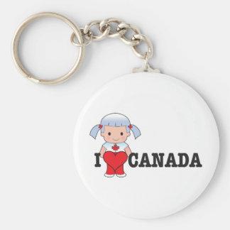 Amor Canadá Llaveros Personalizados