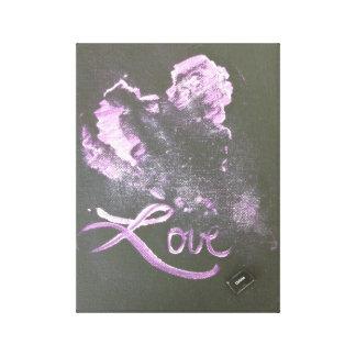 Amor: Cancelación Lienzo Envuelto Para Galerias