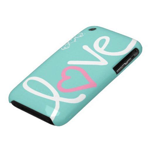 amor Case-Mate iPhone 3 coberturas