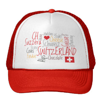 Amor caseoso Suiza de Clichés I del suizo Gorras De Camionero