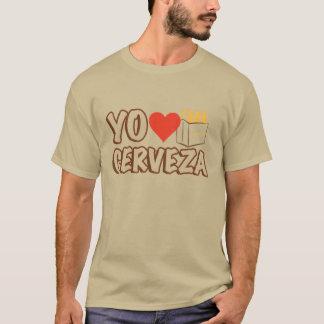 Amor Cerveza de Yo Playera