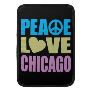 Amor Chicago de la paz Funda Para Macbook Air