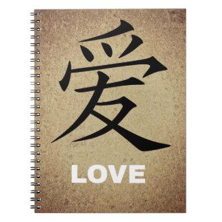 Amor chino libretas espirales