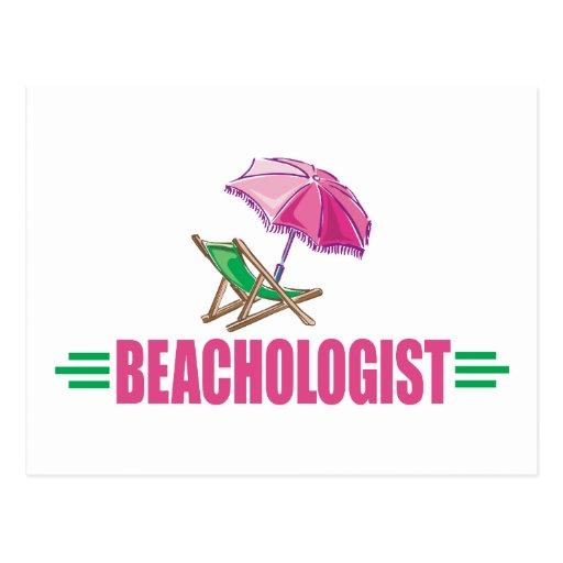 Amor chistoso de I la playa Postales