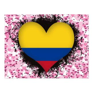 Amor Colombia del vintage I Tarjetas Postales