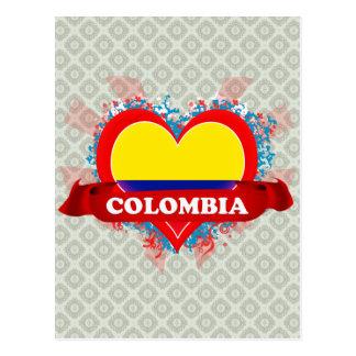 Amor Colombia del vintage I Postales