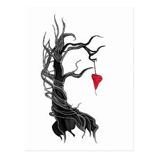 Amor, como un árbol postal