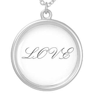 Amor con clase collar personalizado