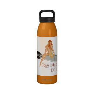 Amor con clase de las señoras… botella de agua