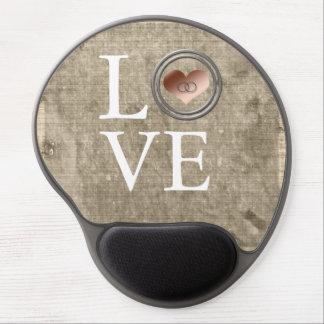 Amor-Con este anillo… Alfombrillas De Raton Con Gel