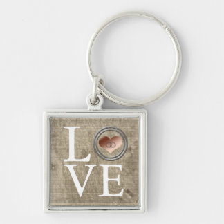 Amor-Con este anillo… Llavero Personalizado