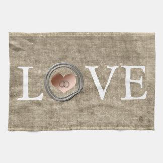 Amor-Con este anillo… Toalla