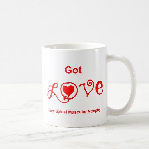 Amor conseguido - rojo tazas de café
