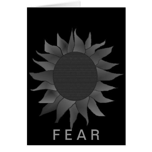 Amor contra tarjeta del miedo