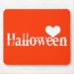 Amor - corazón - Halloween Alfombrilla De Ratones