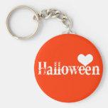 Amor - corazón - Halloween Llavero