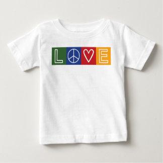 AMOR - corazón y signo de la paz Camisas
