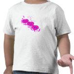 Amor (corazones rosados) camiseta