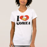 amor Corea Camiseta