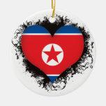 Amor Corea del Norte del vintage I Ornamento De Reyes Magos
