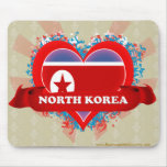 Amor Corea del Norte del vintage I Tapetes De Raton